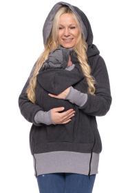LUAN Fleece Tragejacke aus reiner BIO Baumwolle